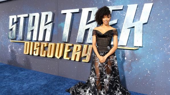 Sonequa Martin-Green from Star Trek: Discovery