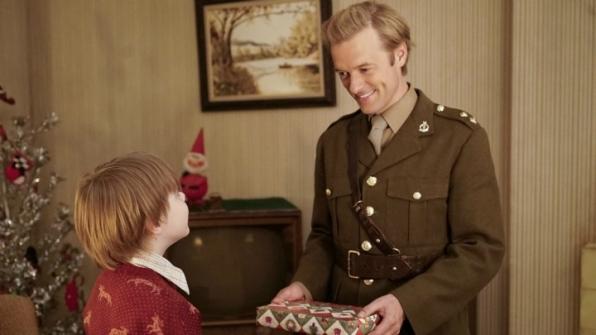 """Andy Walken as Nicholas Mallard and Adam Campbell as Young Donald """"Ducky"""" Mallard"""