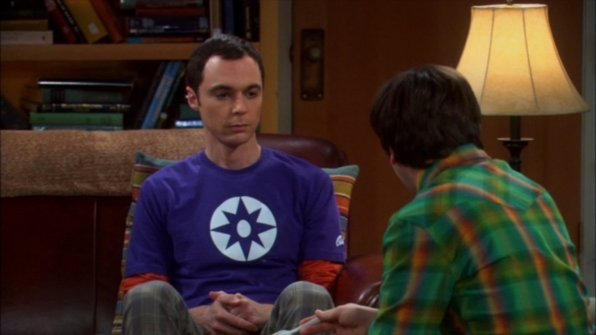 Sheldon Cooper's Star Sapphire symbol shirt from The Big Bang Theory
