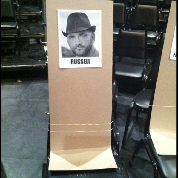 Russell's seat