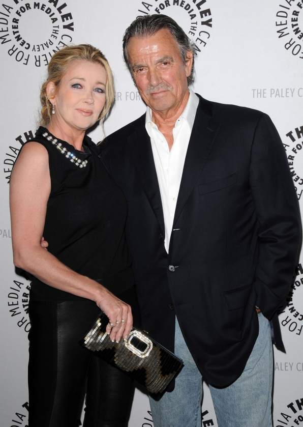 Melody Thomas Scott & Eric Braeden
