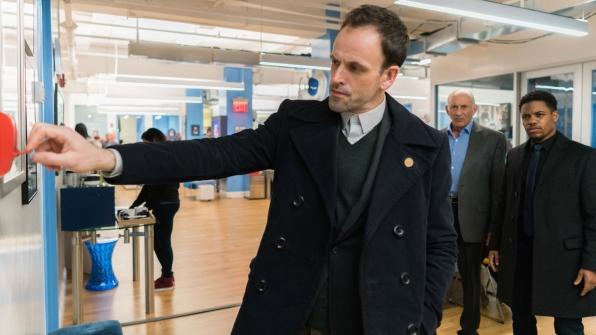 Jonny Lee Miller as Sherlock Holmes