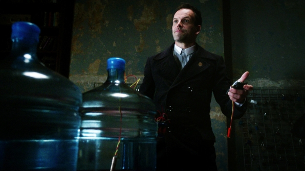 Holmes disarmed a bomb on Elementary.