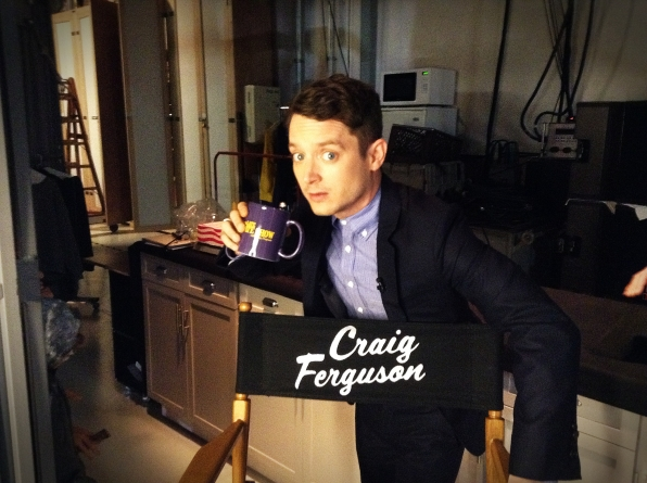 Elijah Wood - Behind the Scenes at The Late Late Show