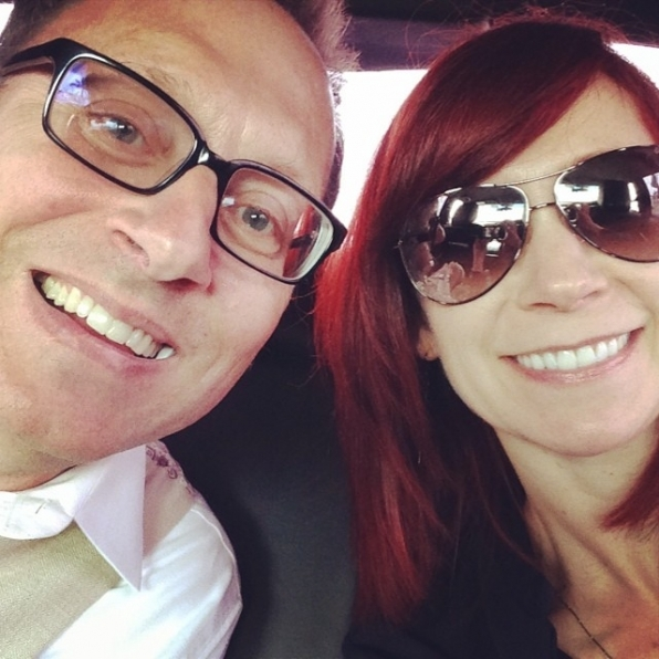 Carrie Preston Supports Her Hubby, Michael Emerson