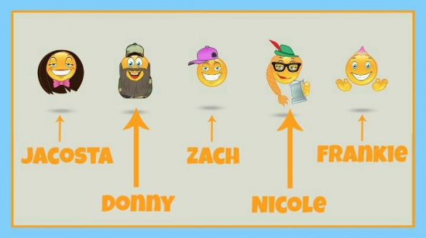 "Question: Which previous BB Houseguests were represented during this week's ""Mixed Emojis"" HoH"