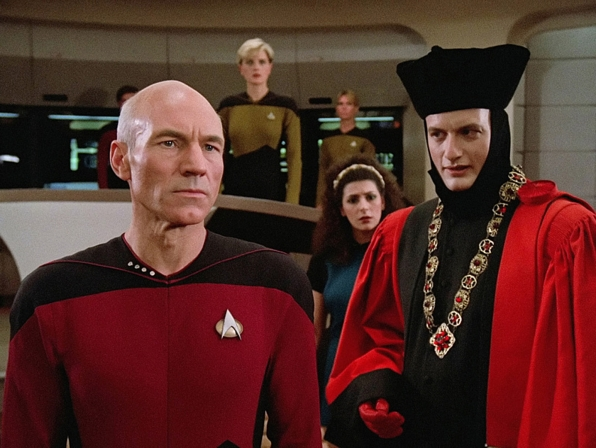 Encounter at Farpoint  (Star Trek: The Next Generation, Season 1, Episode 1)