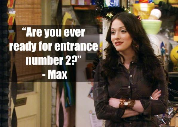 Max Black - <i>2 Broke Girls</i>