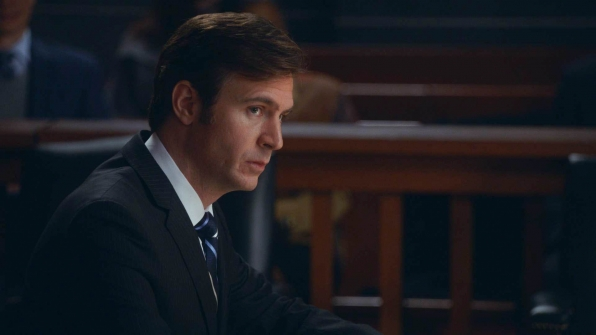 "Jack Davenport as AUSA Frank Asher in 'Parallel Construction, Bitches"" S5 E13"
