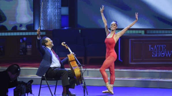 Yo-Yo Ma and Misty Copeland