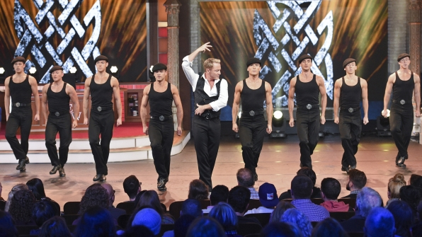 "Michael Flatley and the ""Lord Of The Dance"""