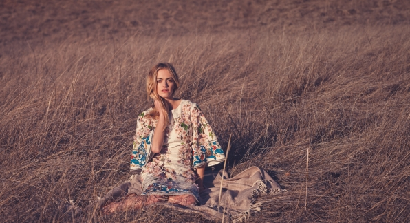 Emily Wickersham in the Field - Watch! Magazine August 2014