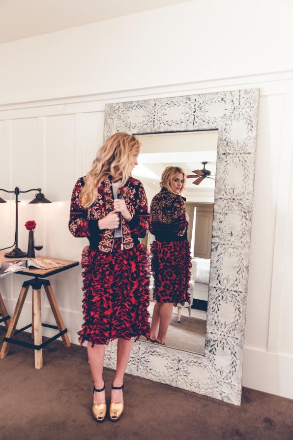 Emily Wickersham's Mirror Image - Watch! Magazine August 2014