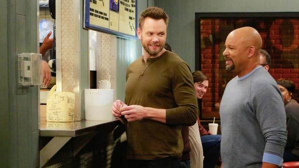 Jack takes Eddie to The Wieners Circle to cheer him up.