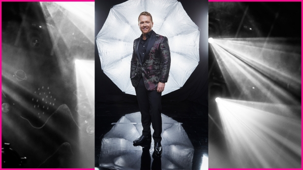 Singer/songwriter Shane McAnally is one class act backstage at the 52nd ACM Awards.