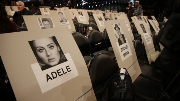 Looks like 10-time GRAMMY winner Adele and four-time winner Bruno Mars might knock elbows.