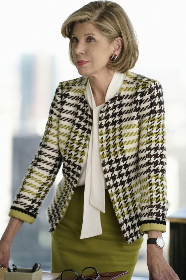 Diane Lockhart isn't playing around.