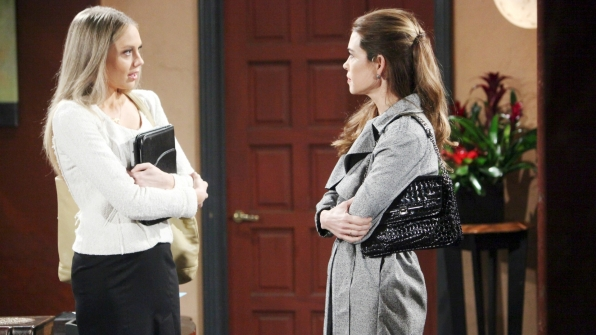 Victoria challenges Abby.