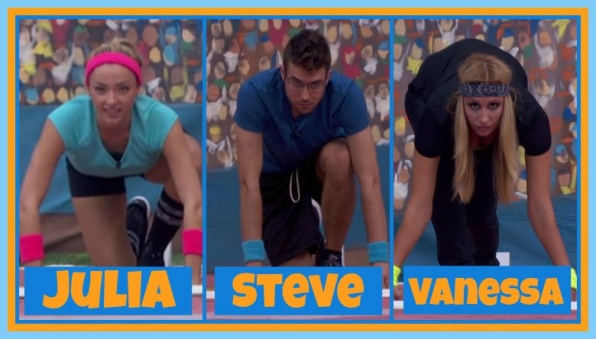 Question: Which Houseguests were eliminated for false starts in this week's HoH competition?