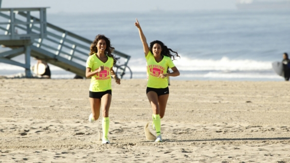 Tiffany Chantell Torres and Krista DeBono from The Amazing Race