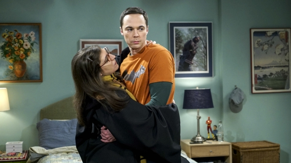 Amy tries to patch things up with Sheldon so they can get back to more exciting activities.