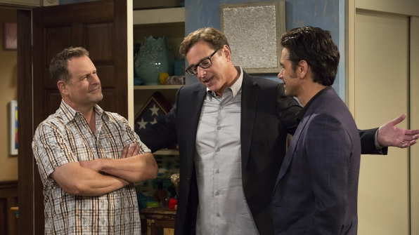 Dave Coulier, Bob Saget, and John Stamos