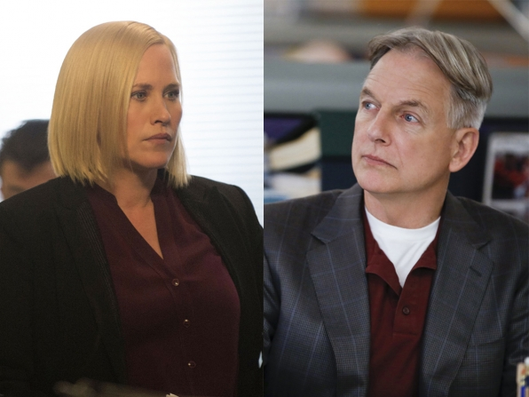 Avery Ryan and Leroy Jethro Gibbs