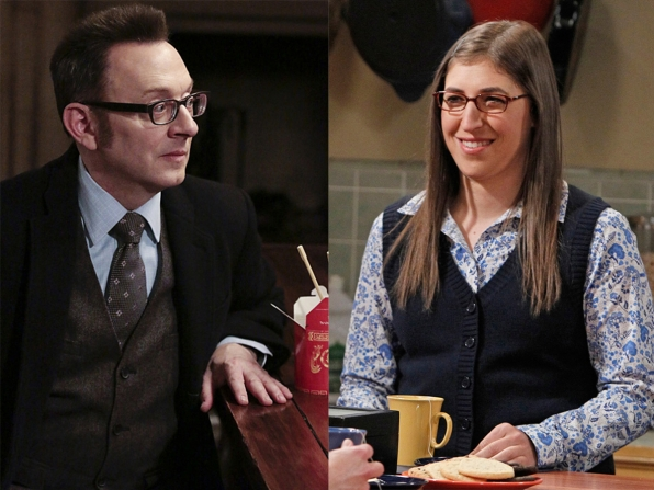 Harold Finch and Amy Farrah Fowler