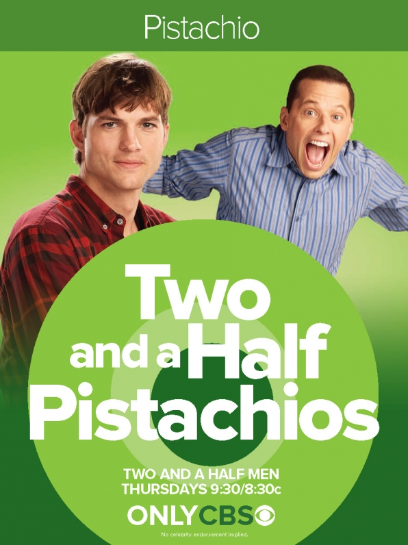 Two And A Half Pistachios