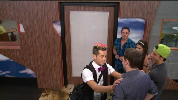 Frankie's final words to Derrick in the BB house