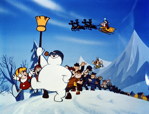 1. Your favorite holiday legends are coming to town, including Frosty The Snowman!
