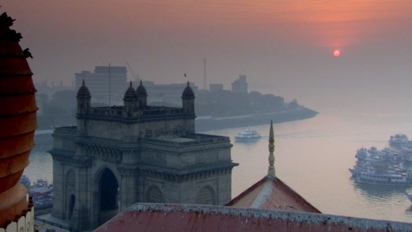 The gateway to Mumbai, India