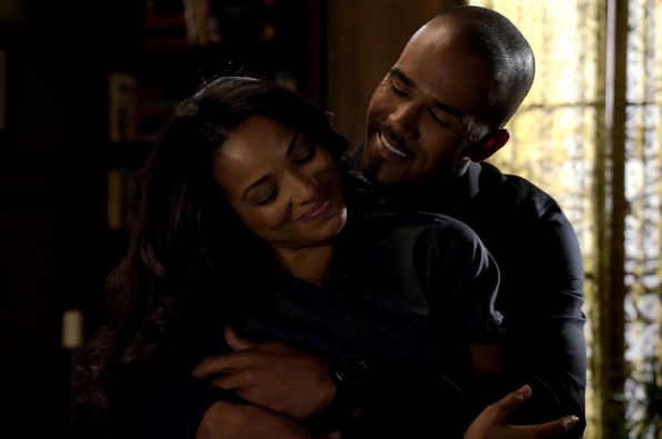 Derek gives a bear hug and we don't mind if he does.