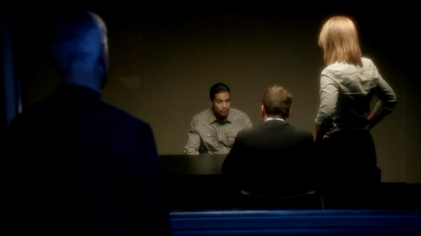 10. Gibbs lets her handle the interrogation.