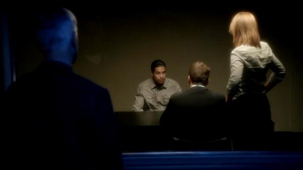 10. Gibbs lets her handle the interrogation.