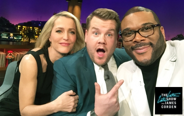 Gillian Anderson and Tyler Perry