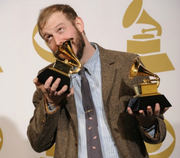 "People struggled to understand how ""Bonnie Bear"" (Bon Iver) could win Best New Artist."