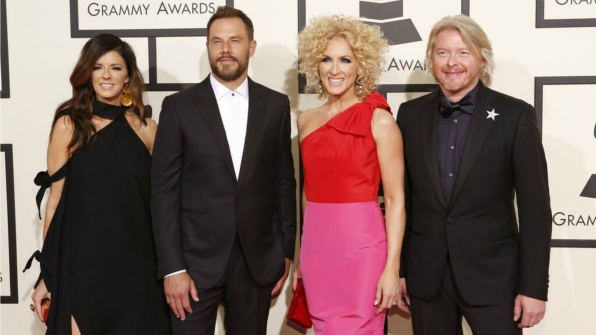 Little Big Town hits the red carpet in style.