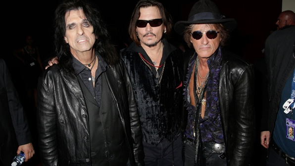 GRAMMYs 2016: The Hollywood Vampires