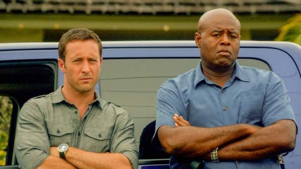 McGarrett and Grover in Season 4 Episode 12