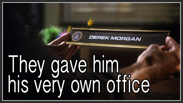 Question: What did JJ and Garcia do for Morgan when he became Acting Chief?