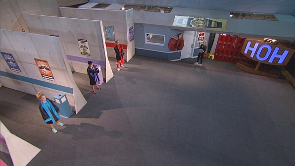 The Houseguests take their positions