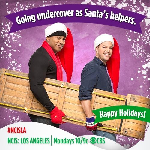 17. LL Cool J and Chris O'Donnell - NCIS: LA