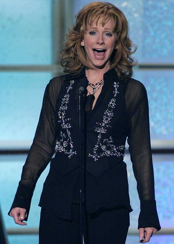 When she rocked a glittery vest at the 41st Academy of Country Music Awards.