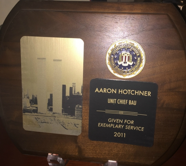 A service award for Hotch? No shocker there!