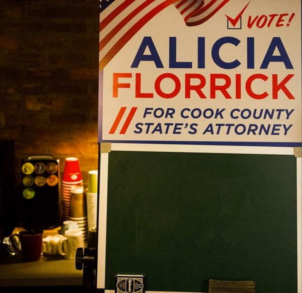 The Good Wife Instagram: Welcome to Alicia Florrick's campaign headquarters!