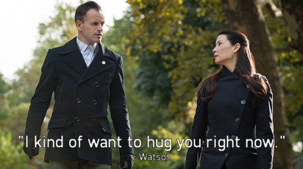 2. As Sherlock's friend, Watson knows that he isn't one for hugs.