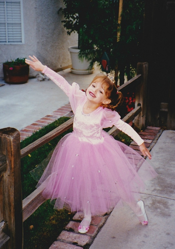 Hunter King stole the hearts of everyone in her princess kingdom.