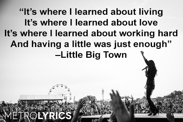 "6. Little Big Town, ""Boondocks"""