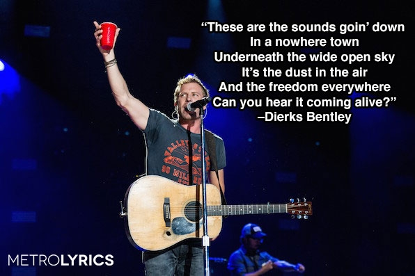 "5. Dierks Bentley, ""Sounds Of Summer"""